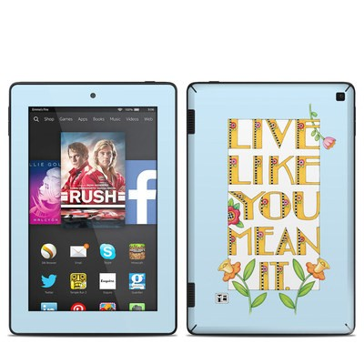 Amazon Kindle Fire HD 7in 2014 Skin - Mean It