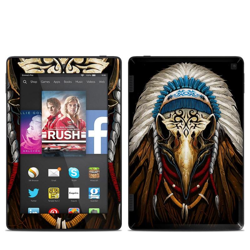 Eagle Skull By Abrar Ajmal: Amazon Kindle Fire HD 7in 2014 Skin