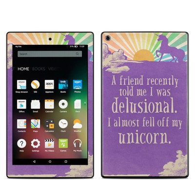 Amazon Kindle Fire HD8 2015 Skin - A Friend Recently