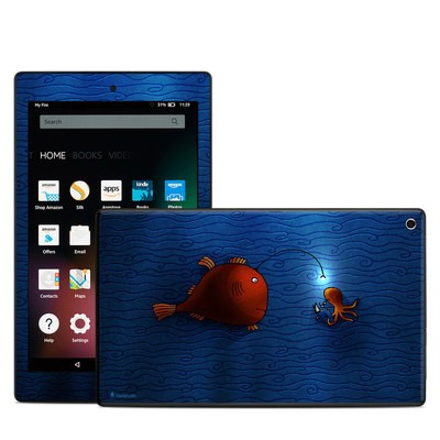 Amazon Kindle Fire HD8 2015 Skin - Angler Fish