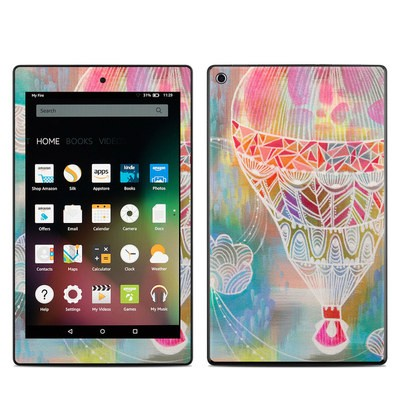 Amazon Kindle Fire HD8 2015 Skin - Balloon Ride