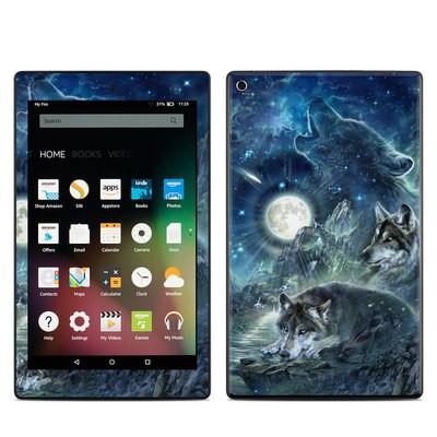 Amazon Kindle Fire HD8 2015 Skin - Bark At The Moon