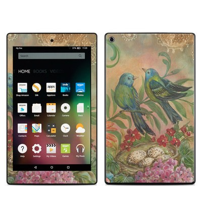 Amazon Kindle Fire HD8 2015 Skin - Splendid Botanical