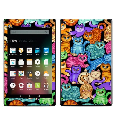 Amazon Kindle Fire HD8 2015 Skin - Colorful Kittens