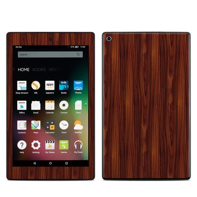 Amazon Kindle Fire HD8 2015 Skin - Dark Rosewood