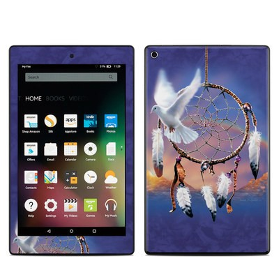 Amazon Kindle Fire HD8 2015 Skin - Dove Dreamer