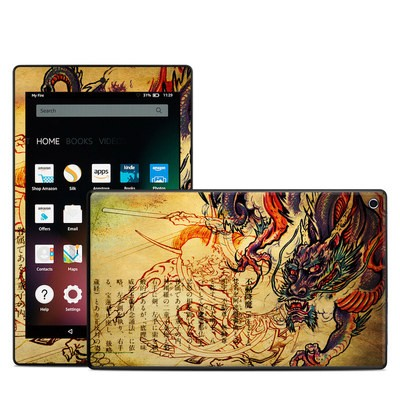 Amazon Kindle Fire HD8 2015 Skin - Dragon Legend