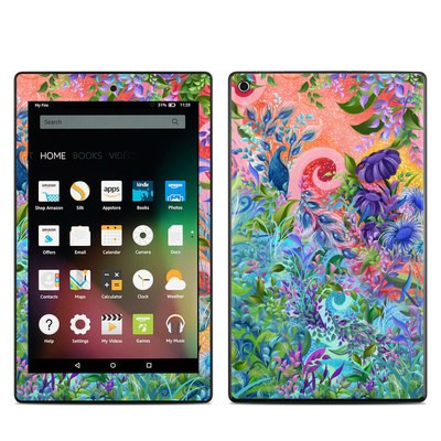 Amazon Kindle Fire HD8 2015 Skin - Fantasy Garden