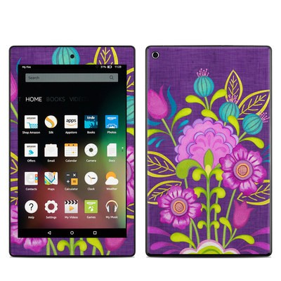 Amazon Kindle Fire HD8 2015 Skin - Floral Bouquet
