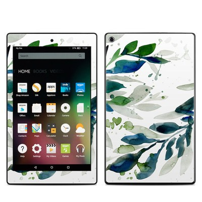 Amazon Kindle Fire HD8 2015 Skin - Floating Leaves