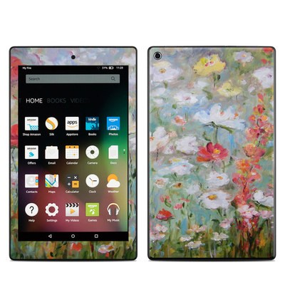 Amazon Kindle Fire HD8 2015 Skin - Flower Blooms