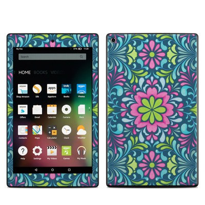 Amazon Kindle Fire HD8 2015 Skin - Freesia