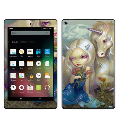 Amazon Kindle Fire HD8 2015 Skin - Fiona Unicorn