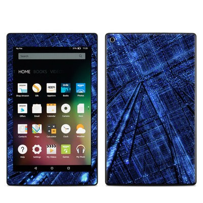 Amazon Kindle Fire HD8 2015 Skin - Grid