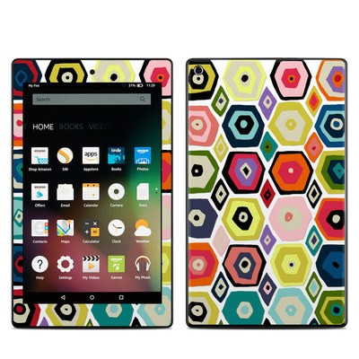 Amazon Kindle Fire HD8 2015 Skin - Hex Diamond