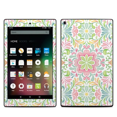Amazon Kindle Fire HD8 2015 Skin - Honeysuckle