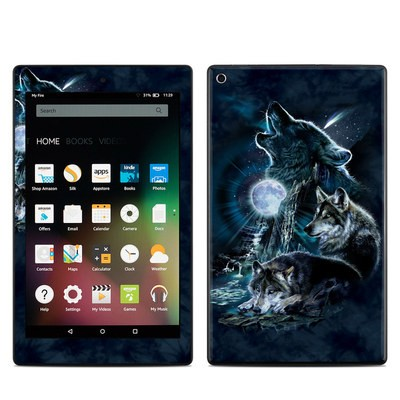 Amazon Kindle Fire HD8 2015 Skin - Howling