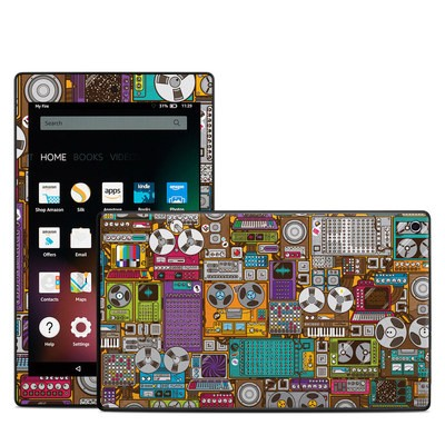 Amazon Kindle Fire HD8 2015 Skin - In My Pocket