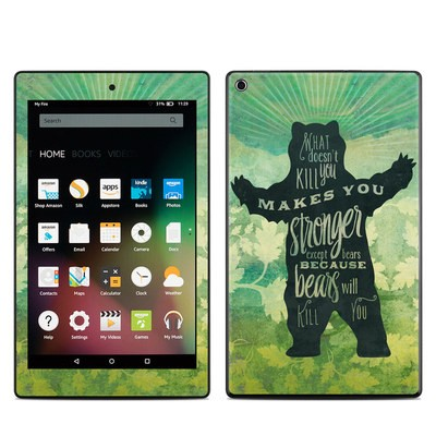 Amazon Kindle Fire HD8 2015 Skin - What Doesnt Kill You