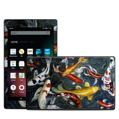 Amazon Kindle Fire HD8 2015 Skin - Koi's Happiness