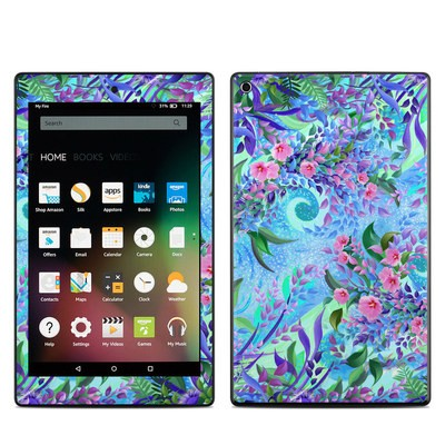 Amazon Kindle Fire HD8 2015 Skin - Lavender Flowers