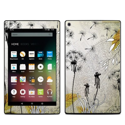 Amazon Kindle Fire HD8 2015 Skin - Little Dandelion