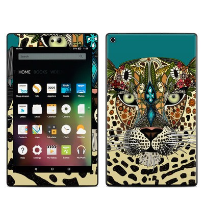 Amazon Kindle Fire HD8 2015 Skin - Leopard Queen