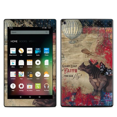 Amazon Kindle Fire HD8 2015 Skin - Leap Of Faith
