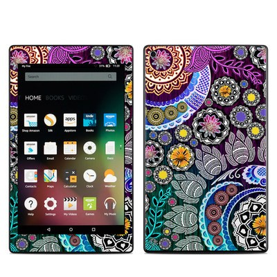Amazon Kindle Fire HD8 2015 Skin - Mehndi Garden