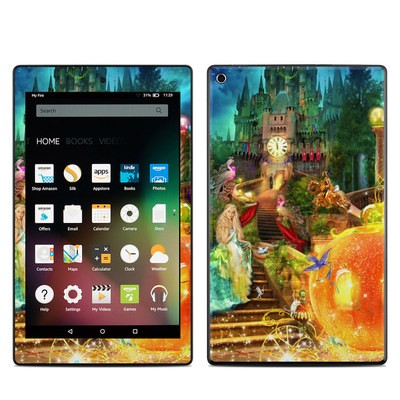 Amazon Kindle Fire HD8 2015 Skin - Midnight Fairytale