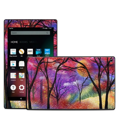 Amazon Kindle Fire HD8 2015 Skin - Moon Meadow