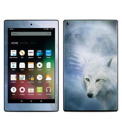 Amazon Kindle Fire HD8 2015 Skin - Moon Spirit
