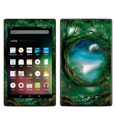Amazon Kindle Fire HD8 2015 Skin - Moon Tree