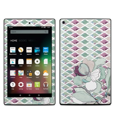Amazon Kindle Fire HD8 2015 Skin - Nouveau Chic