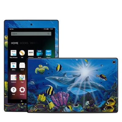 Amazon Kindle Fire HD8 2015 Skin - Ocean Friends