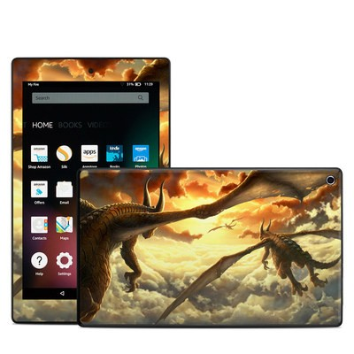 Amazon Kindle Fire HD8 2015 Skin - Over the Clouds