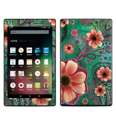 Amazon Kindle Fire HD8 2015 Skin - Paisley Paradise