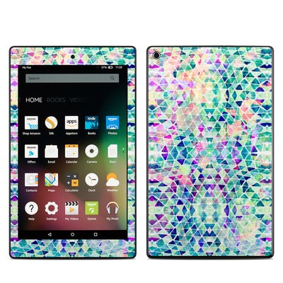 Amazon Kindle Fire HD8 2015 Skin - Pastel Triangle