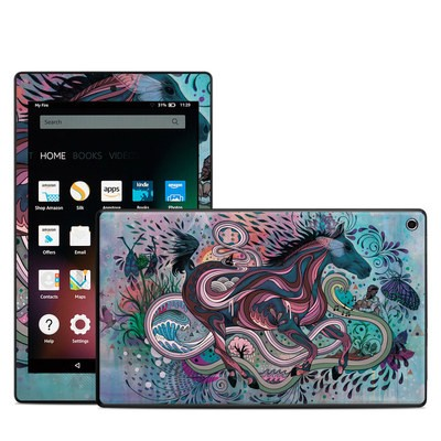 Amazon Kindle Fire HD8 2015 Skin - Poetry in Motion