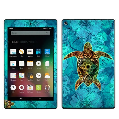 Amazon Kindle Fire HD8 2015 Skin - Sacred Honu