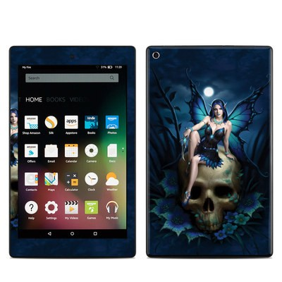 Amazon Kindle Fire HD8 2015 Skin - Skull Fairy