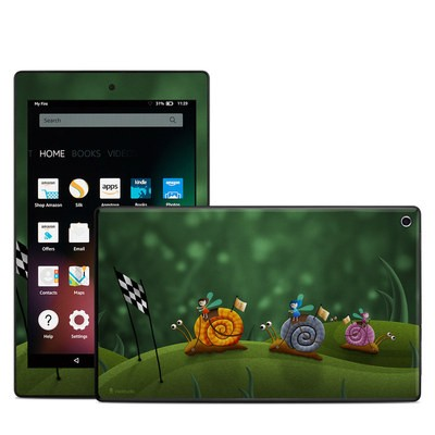 Amazon Kindle Fire HD8 2015 Skin - Snail Race
