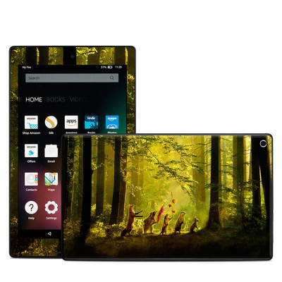 Amazon Kindle Fire HD8 2015 Skin - Secret Parade