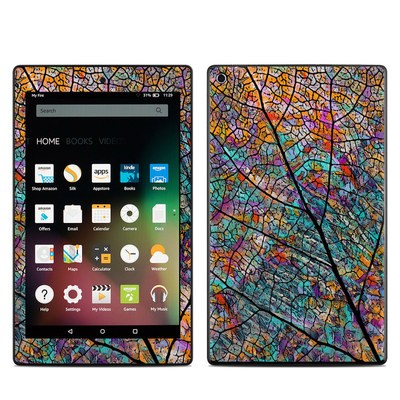 Amazon Kindle Fire HD8 2015 Skin - Stained Aspen