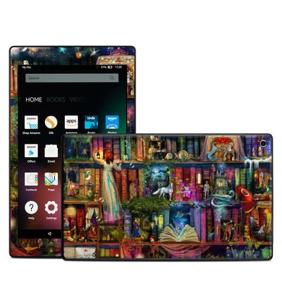 Amazon Kindle Fire HD8 2015 Skin - Treasure Hunt
