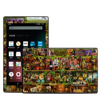 Amazon Kindle Fire HD8 2015 Skin - Wine Shelf