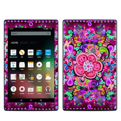 Amazon Kindle Fire HD8 2015 Skin - Woodstock