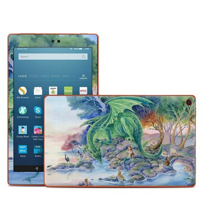 Amazon Kindle Fire HD8 2016 Skin - Of Air And Sea