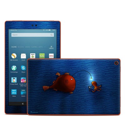 Amazon Kindle Fire HD8 2016 Skin - Angler Fish