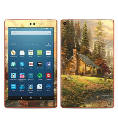 Amazon Kindle Fire HD8 2016 Skin - A Peaceful Retreat